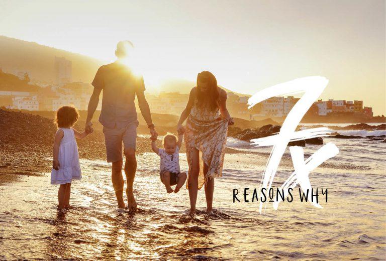 Waarom je de rest van je leven met familie op vakantie moet blijven gaan
