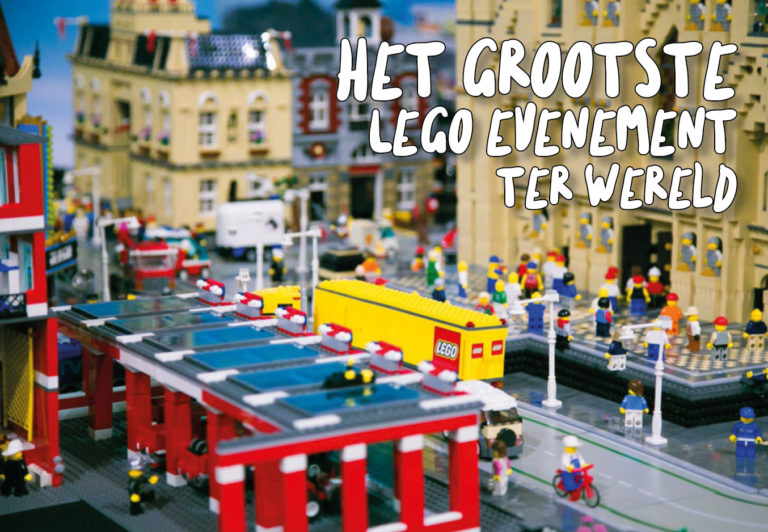 Lego World 2019 in Utrecht wil je nú in je agenda zetten