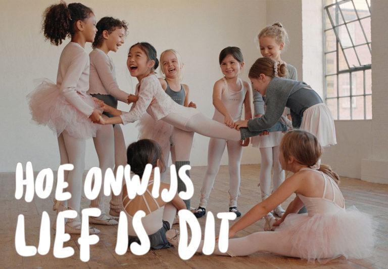 Hebben, hebben, hebben: de nieuwe balletlijn van Zara