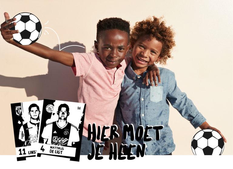 Sparen, sparen, sparen: de voetbalplaatjes van de Albert Heijn
